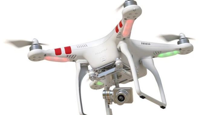 Drohne mit Kamera DJI Phantom II Vision