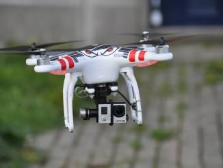 Drohne mit Kamera im privaten Gebrauch